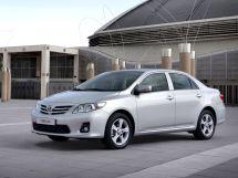 Toyota Corolla рестайлинг, 10 поколение, 07.2010 - 08.2013, Седан