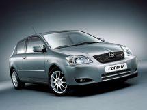 Toyota Corolla 9 поколение, 08.2000 - 06.2004, Хэтчбек 3 дв.