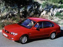 Toyota Corolla рестайлинг, 8 поколение, 01.1999 - 10.2001, Хэтчбек 5 дв.