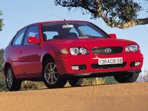 Toyota Corolla рестайлинг, 8 поколение, 01.1999 - 10.2001, Хэтчбек 3 дв.