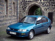 Toyota Corolla рестайлинг 1995, хэтчбек 5 дв., 7 поколение, E100