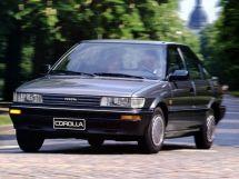 Toyota Corolla 1987, лифтбек, 6 поколение, E90