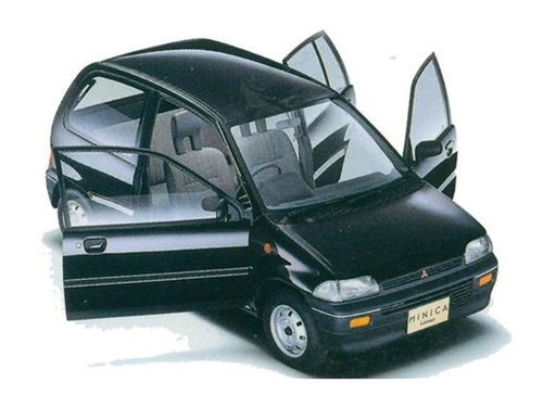 Mitsubishi Minica 1989 - 1993