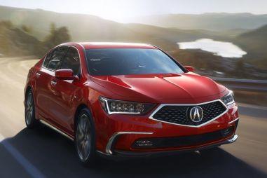 Acura показала новую версию седана RLX