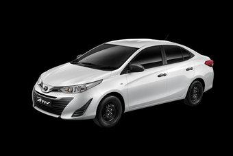 Toyota Yaris Ativ позиционируется ниже модели Vios.