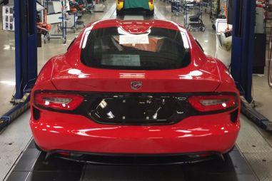 В США собрали последний Dodge Viper