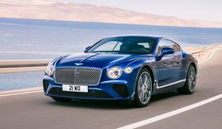 Представлено новое поколение купе Bentley Continental GT