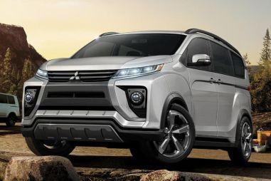 В Токио привезут новый Mitsubishi Delica?