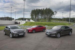 Сравнительный тест Mazda6, Ford Mondeo и Volkswagen Passat. «Комфорт+» с характером