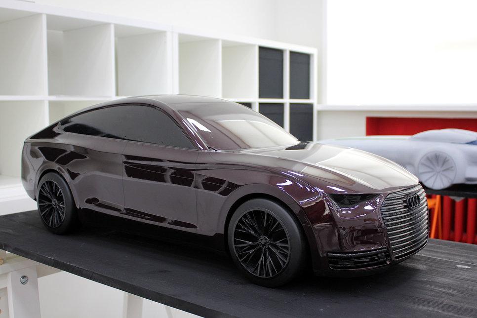 Какими видят автомобили будущего российские студенты Обзор  audi класса gran tourismo проект Сергея Говорова