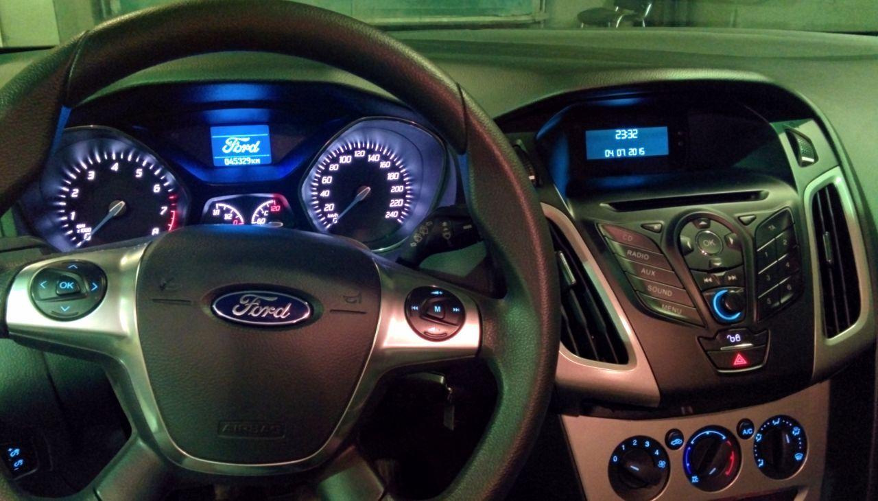 провал оборотов при запуске ford focus 2
