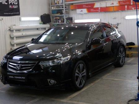 Honda Accord 2012 - отзыв владельца