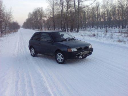 Toyota Starlet 1990 - отзыв владельца