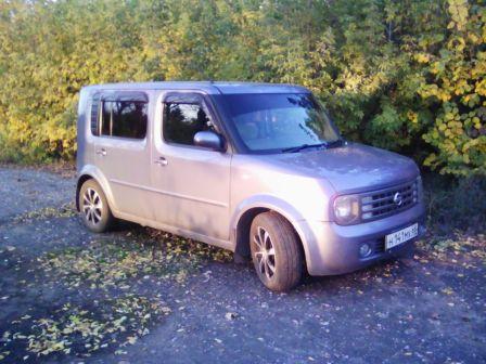 Nissan Cube Cubic 2003 - отзыв владельца