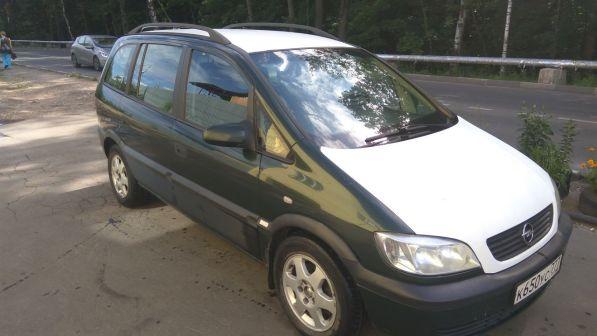 Opel Zafira 2002 - отзыв владельца