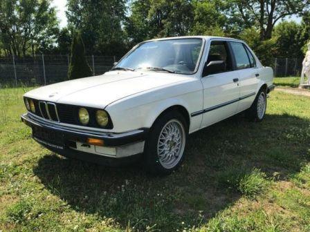 BMW 3-Series 1984 - отзыв владельца