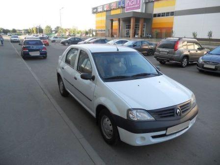 Renault Logan 2009 - отзыв владельца