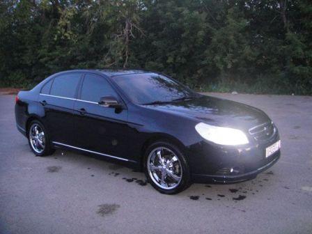 Chevrolet Epica 2008 - отзыв владельца