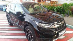 Honda CR-V 2017 отзыв владельца | Дата публикации: 16.08.2017