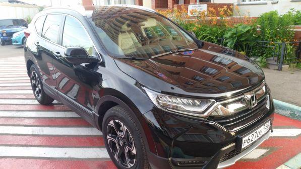 Honda CR-V 2017 - отзыв владельца