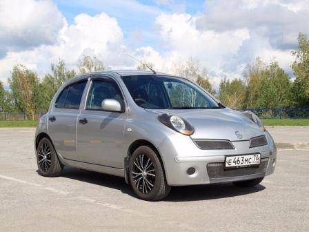 Nissan March 2009 - отзыв владельца