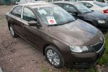 Skoda Rapid. КОРИЧНЕВЫЙ TOFFEE BROWN (4Q4Q)