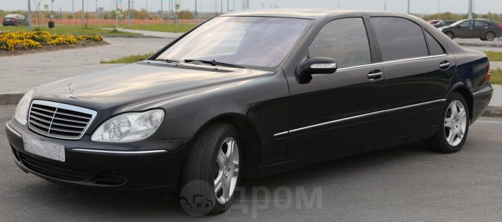 Mercedes-Benz S-Class, 2004 год, 630 000 руб.