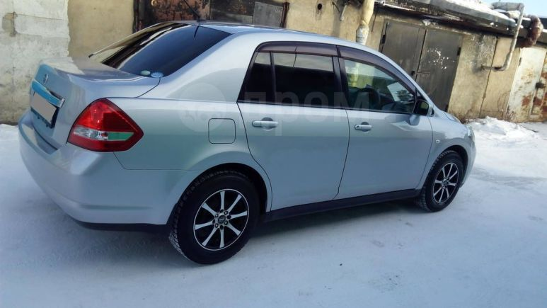 Nissan Tiida Latio, 2008 год, 390 000 руб.