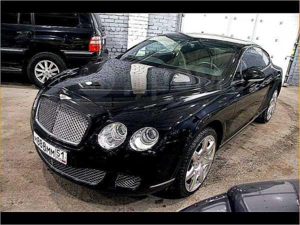 Bentley Continental GT, 2008 год, 4 000 000 руб.