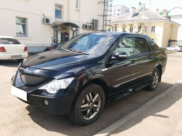 SsangYong Actyon Sports, 2010 год, 550 000 руб.