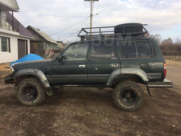 Toyota Land Cruiser, 1996 год, 270 000 руб.