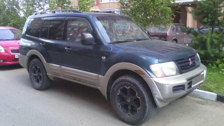Mitsubishi Montero, 2001 год, 350 000 руб.