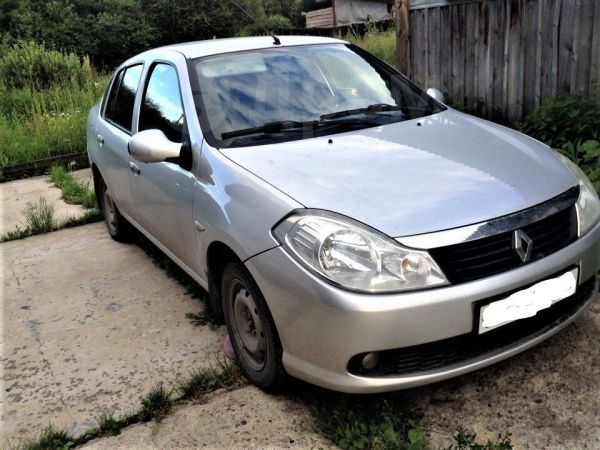 Renault Symbol, 2009 год, 285 000 руб.