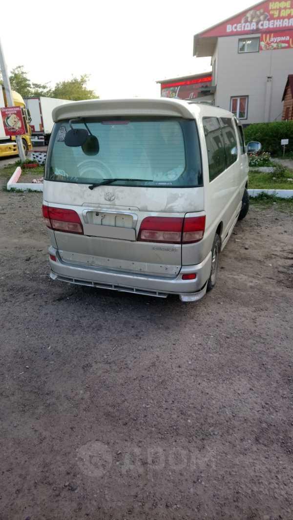 Toyota Hiace Regius, 2001 год, 130 000 руб.