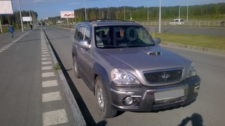 Hyundai Terracan, 2003 год, 405 000 руб.