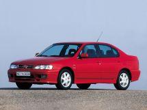 Nissan Primera 1996, седан, 2 поколение, P11