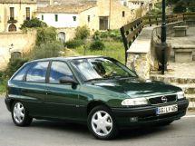 Opel Astra рестайлинг 1994, хэтчбек 5 дв., 1 поколение, F