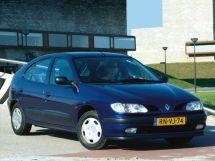 Renault Megane 1 поколение, 03.1995 - 02.2001, Хэтчбек 5 дв.