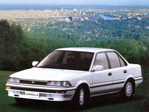 Toyota Corolla 1987 - 1989