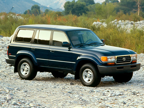 Toyota Land Cruiser 1995 - 1997