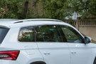 Дополнительно: Хромированная окантовка боковых стекол;<br /> Защита кромок дверей (опция);<br /> Откидные столики на спинках передних сидений (опция)