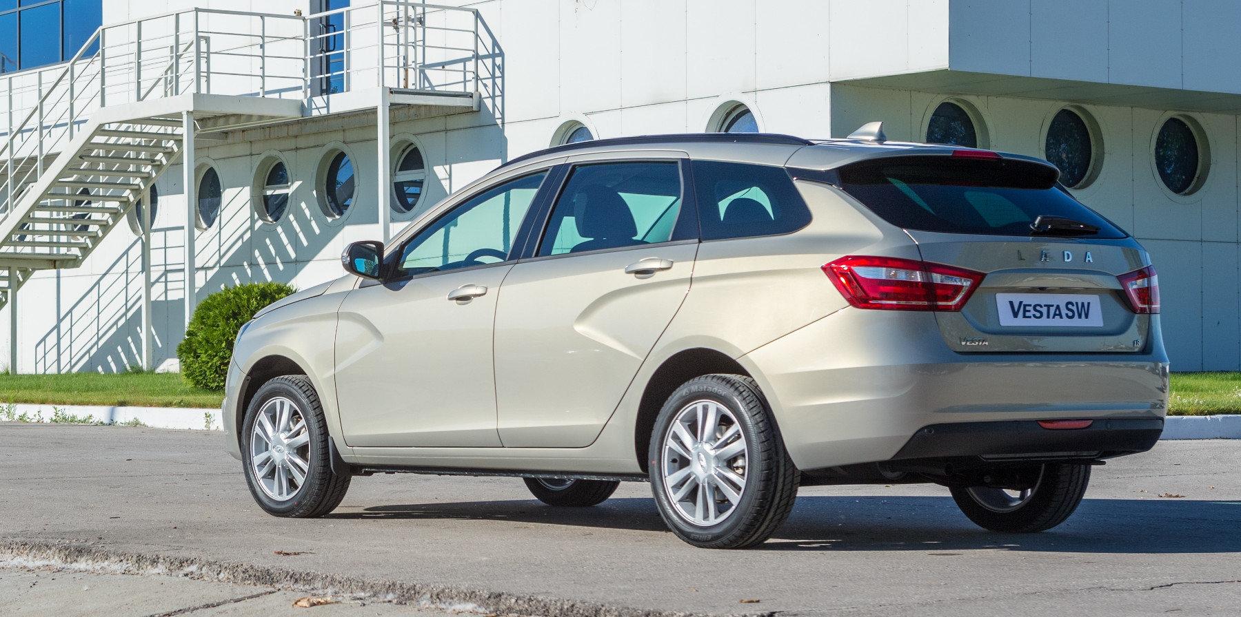 Самая азартная Lada Vesta поступит в продажу в январе
