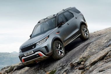 Land Rover Discovery SVX оснастили 525-сильным V8
