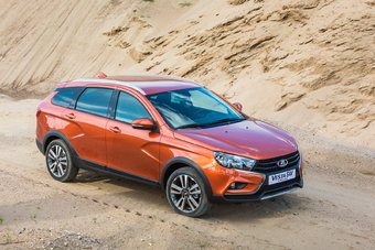 25 октября в дилерских центрах Lada одновременно пройдут торжества, посвященные старту продаж универсалов Lada Vesta.