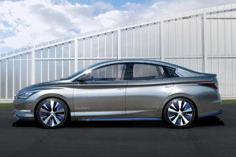 Серийный электромобиль Infiniti создается с чистого листа и не будет иметь общих деталей с другими моделями марки.