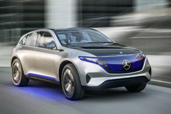 Производство электрического кроссовера Mercedes-Benz EQ C начнется в 2020 году.