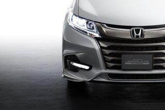 В Японии продажи рестайлинговой Honda Odyssey стартуют в ноябре.