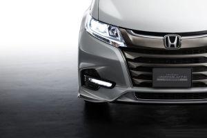 Модернизированная Honda Odyssey: первые фото