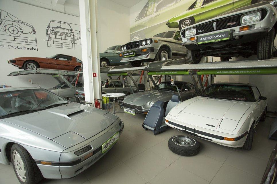 Путешествуем во времени на Mazda RX-2, 929 и Mitsubishi Celeste из 70-х.