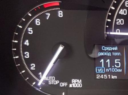 Cadillac XT5 2016 - отзыв владельца